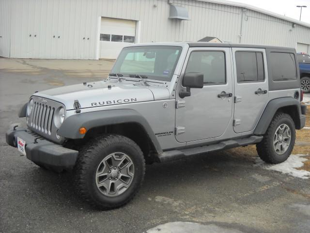 2014 Jeep Wrangler Rubicon >> Pre Owned 2014 Jeep Wrangler Unlimited Rubicon Convertible In Bangor