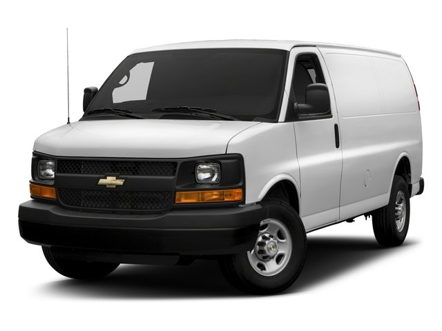 Pre-Owned 2017 Chevrolet Express Cargo Van 2500 RWD 135